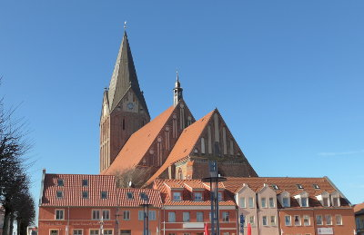 Die Marienkirche in Barth'